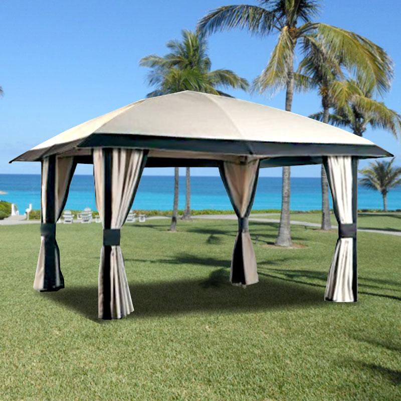 2011 Piati 12 X 14 Gazebo Replacement Canopy Garden Winds
