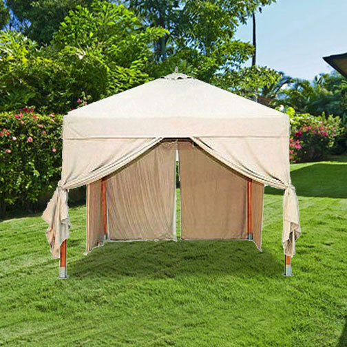 Smith And Hawken Target Eucalyptus Wood Gazebo Replacement Cover Garden Winds