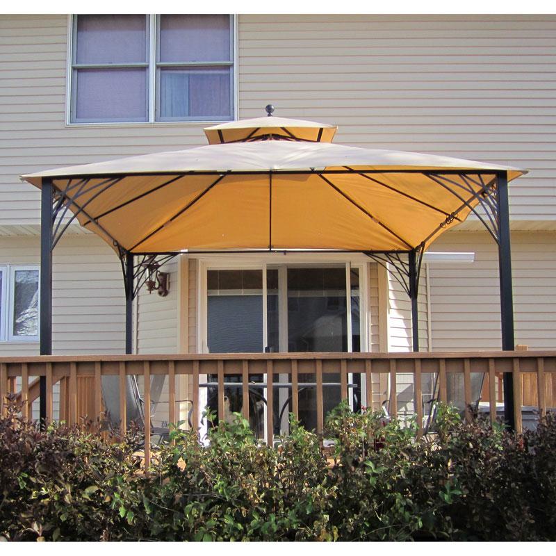 Menards Simona Gazebo Replacement Canopy 271 0697 Garden Winds