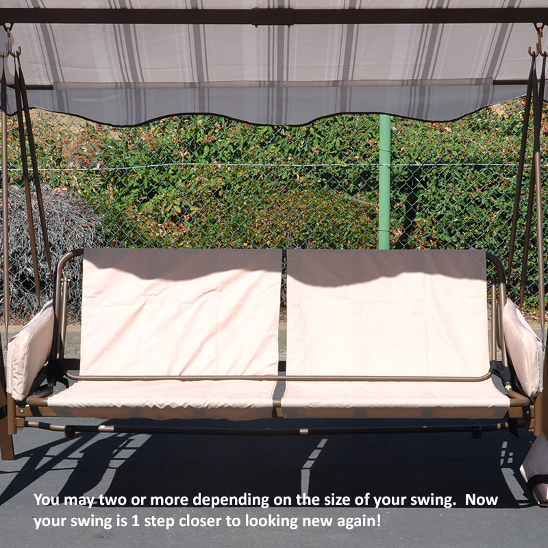 patio swing replacement seat
