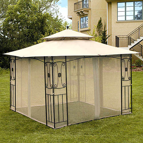 Walmart River Delta Gazebo Replacement Canopy And Netting