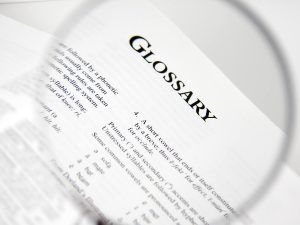 Homecare Glossary