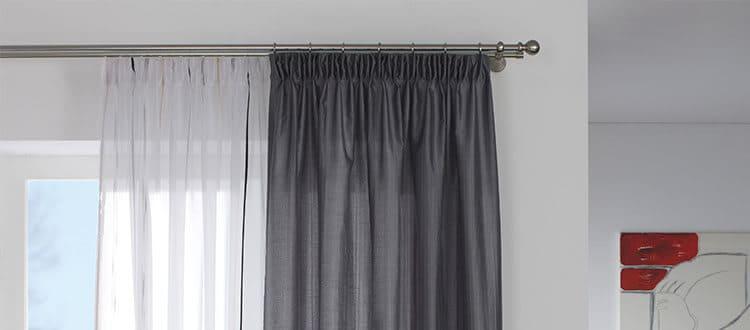 gardinia curtain rods