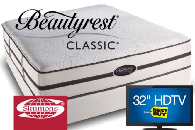 Simmons Beautyrest Classic Alisa With 32