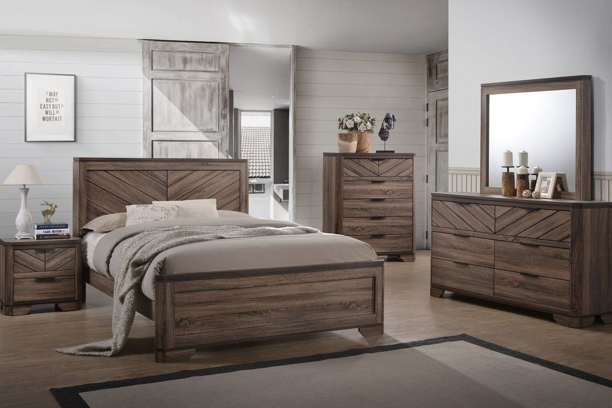 Products tagged with '5 piece bedroom set'. Seaburg 5-Piece Queen Bedroom Set at Gardner-White