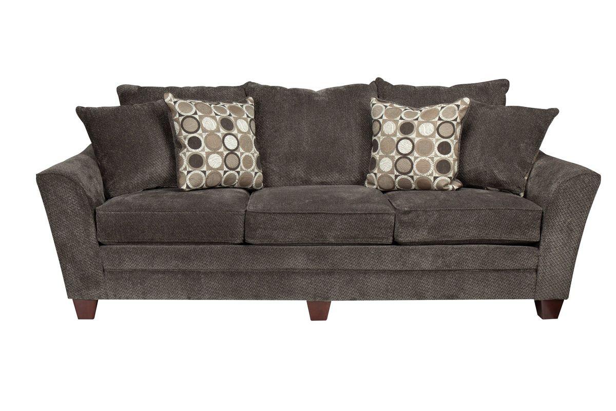 Icerink Chenille Sofa At Gardner White