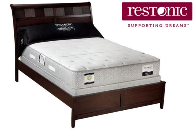 Add To Favorites Restonic Ottawa Pillowtop King Mattress