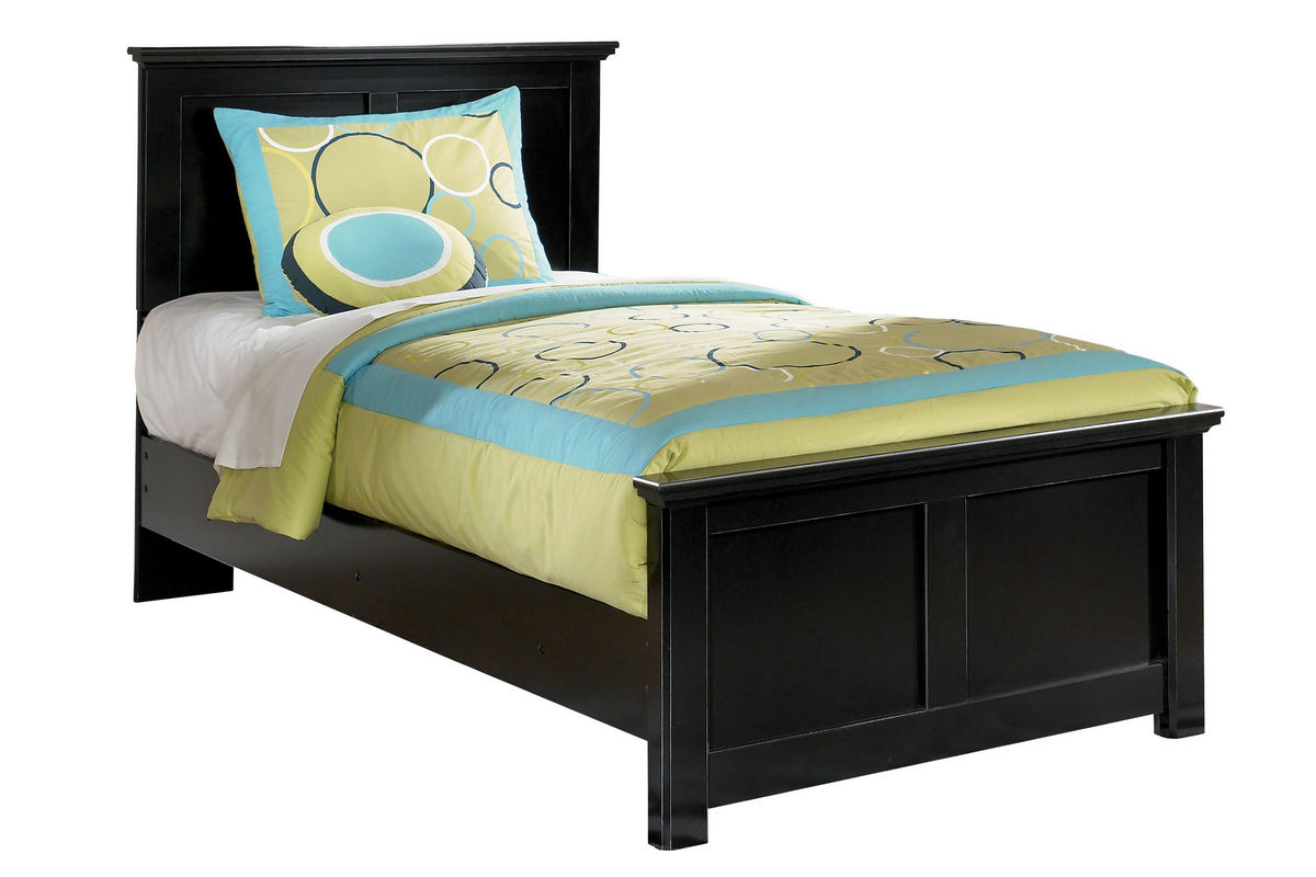 Maribel Black Twin Bed At Gardner White