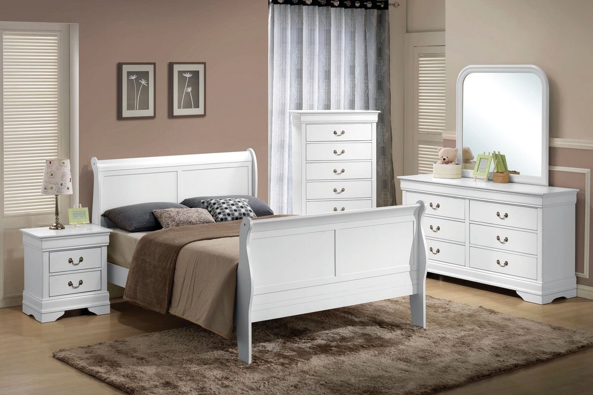 serena 5-piece queen bedroom set