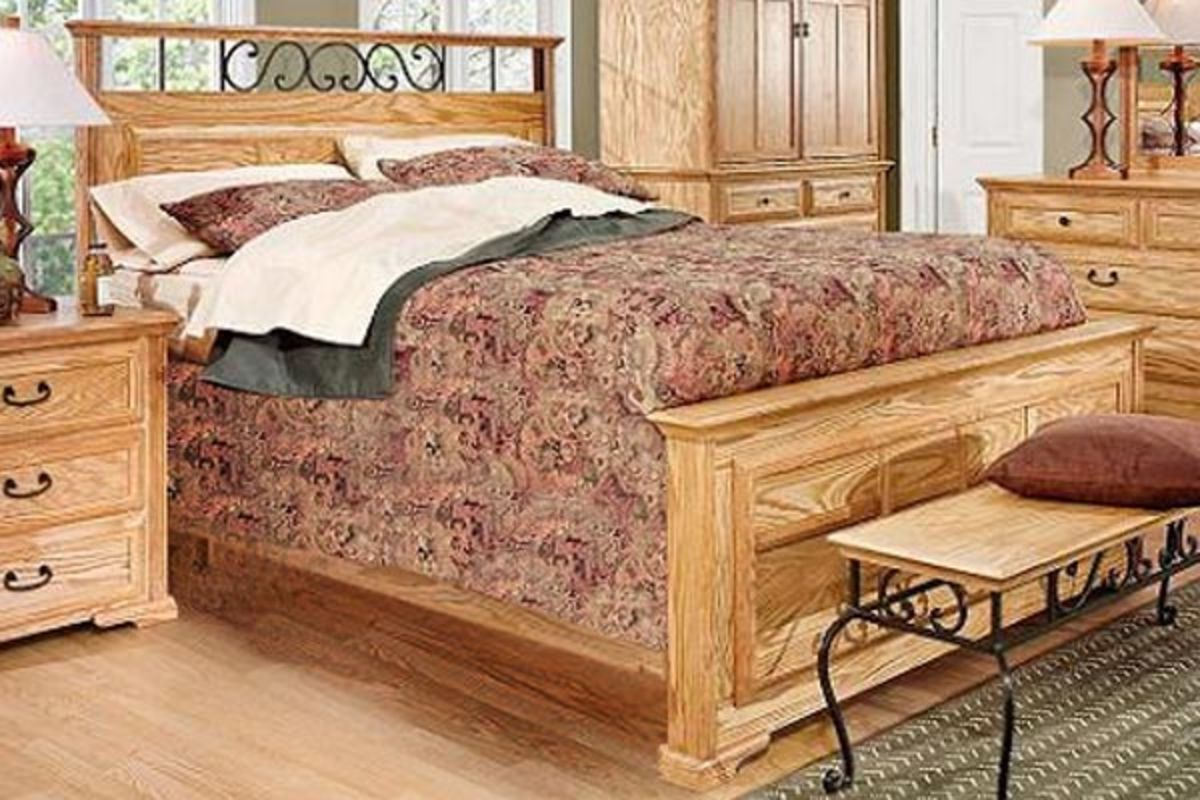 Thornwood King Size Panel Bed At Gardner White