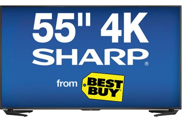 55 Sharp Smart 4K LED TV