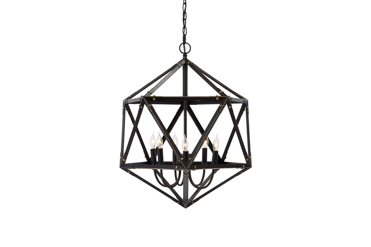Fadri Metal Pendant Chandelier By Ashley At Gardner White