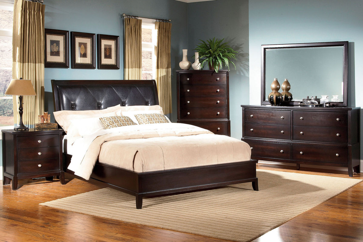 Unique 5 Piece King Bedroom Set at Gardner White Unique 5 Piece King Bedroom Set from Gardner White Furniture
