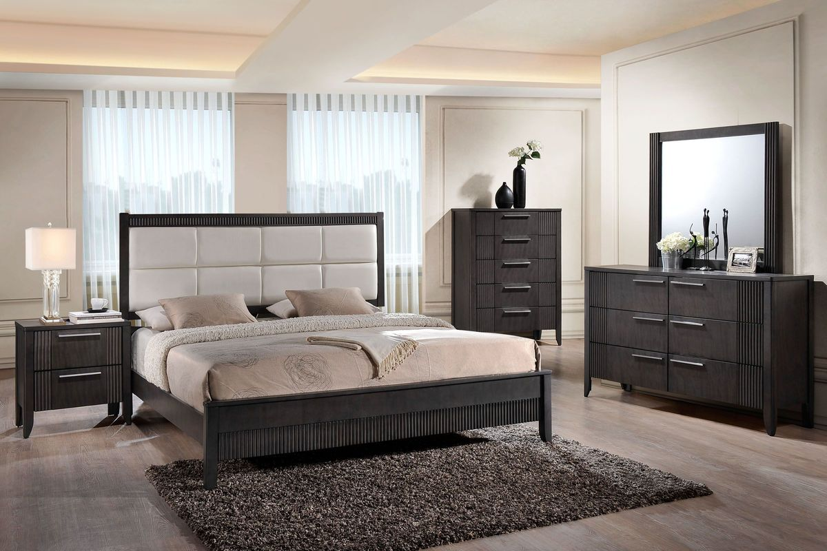 English dovetail joints set the drawers up well for regular use. Belair 5-Piece Queen Bedroom Set at Gardner-White