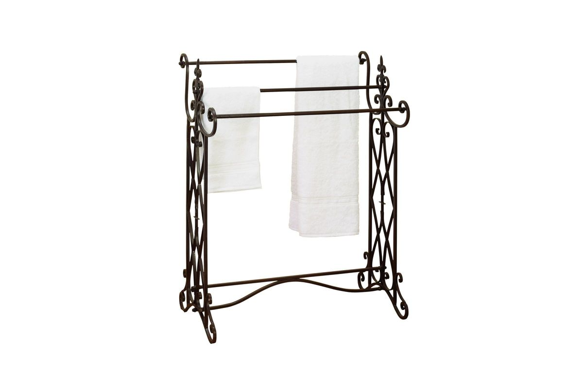Old World Charm 36 Towel Rack In Antique Bronze At