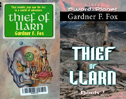 Thief of llarn gardner f fox edgar rice burroughs sword and planet kurt brugel
