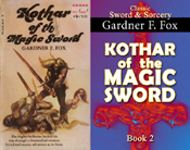 kothar of the magic sword gardner f fox sword and sorcery kurt brugel