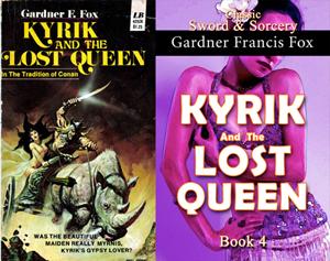 gardner francis fox ebook paperback novel kurt brugel kindle library Kyrik and the lost queen