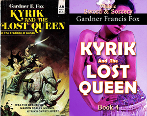 gardner francis fox ebook paperback novel kurt brugel kindle library Kyrik and the lost queen