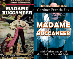 madame buccaneer gardner f fox ebook paperback novel kurt brugel kindle gardner francis fox men's adventure library