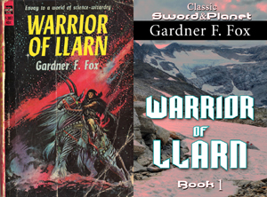 warrior of llarn gardner f fox ebook paperback novel kurt brugel kindle gardner francis fox men's adventure library