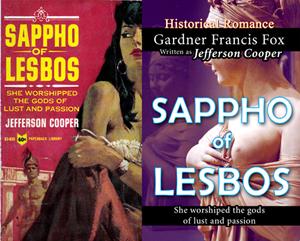 sappho of lesbos jefferson cooper gardner f fox ebook pulp paperback novel kurt brugel kindle gardner francis fox men's adventure library erotica sleaze