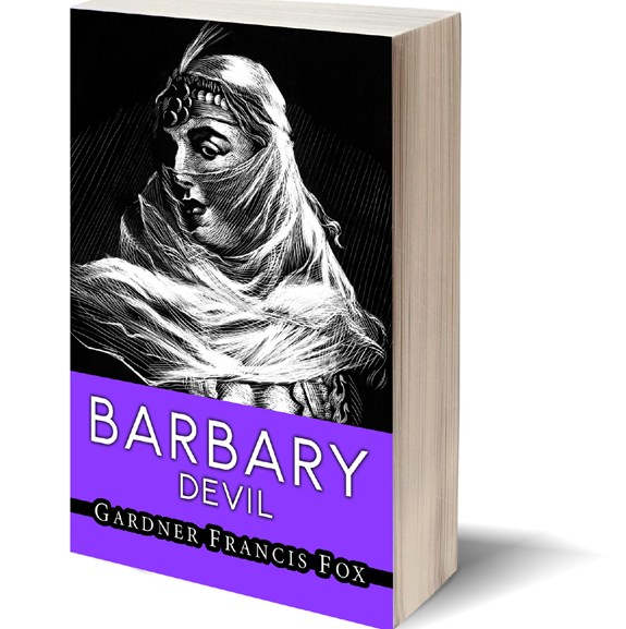 "Barbary Devil – Blog #003 of the 160 ""Pretty faces"" book cover Challenge"