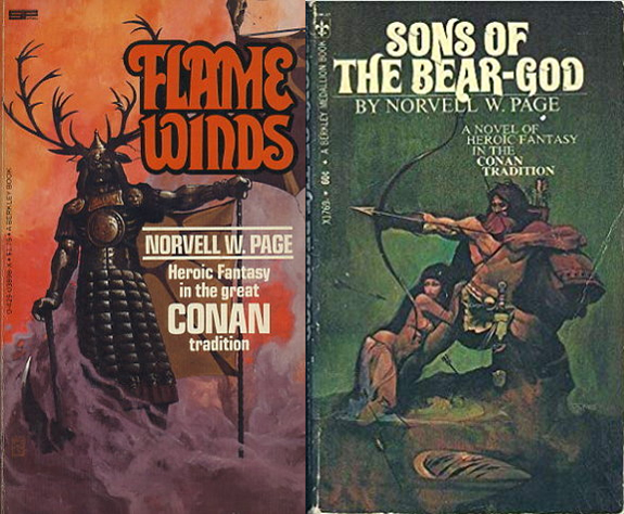 Norvell W, Page Flame Winds and Sons of the Bear Gods Prester John Crusader knight adventures