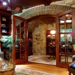 Luxurious Wine Cellar Basement Renovation Gardner Fox Associates