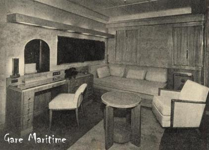 Corner of an Outside Stateroom