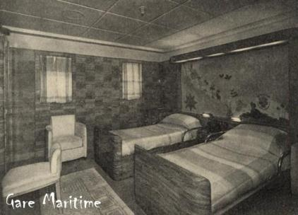Outside staterooms