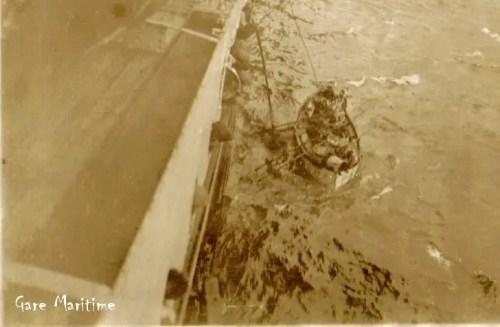 GM vestris lifeboat rescue