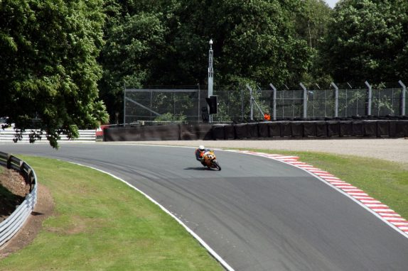 Garf 17 on my own at Oulton Park