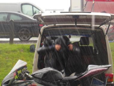 Rain! TDR Day 1 2012