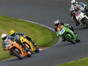 Cadwell Park action