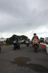 Garf 17 Rolling Out of the Holding Area Oulton Park