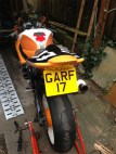 Garf 17 GSXR 600 Rear