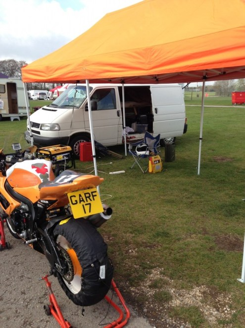 Quickly Setup in the morning Cadwell for the ACU Test