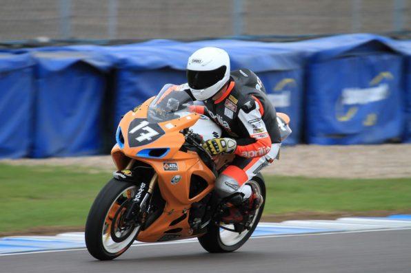 Garf NGRRC Donington 2013 Start Finish Straight