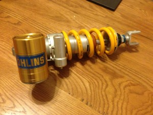 Ohlins S46Back From Kais Performance and  Ready To Fit
