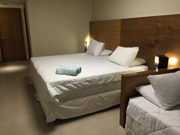 Descanso com direito a cama gigante e confortável. Crédito de imagem Surian Dupont