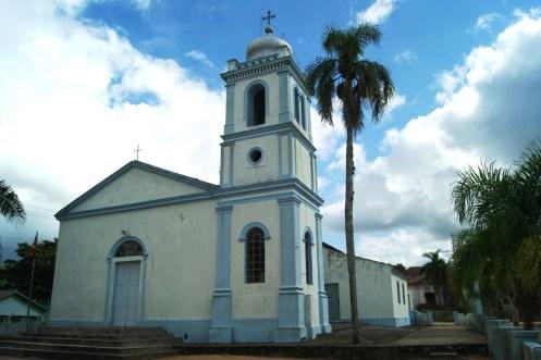 Igreja Nossa Sra da Conceição de Boqueirão - primeira igreja do município construída em 1813.-Crédito de imagem Surian Dupont.