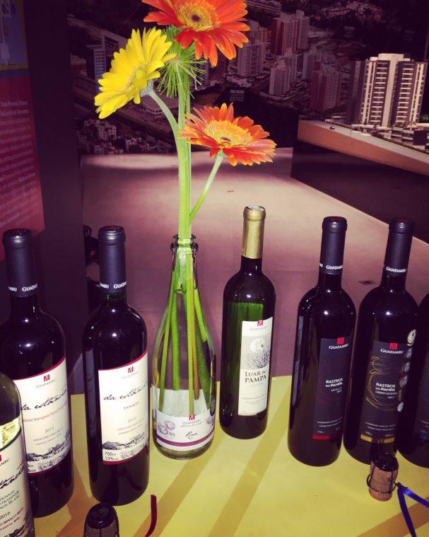 Opções de vinhos da Guatambu. Crédito de imagem Surian Dupont