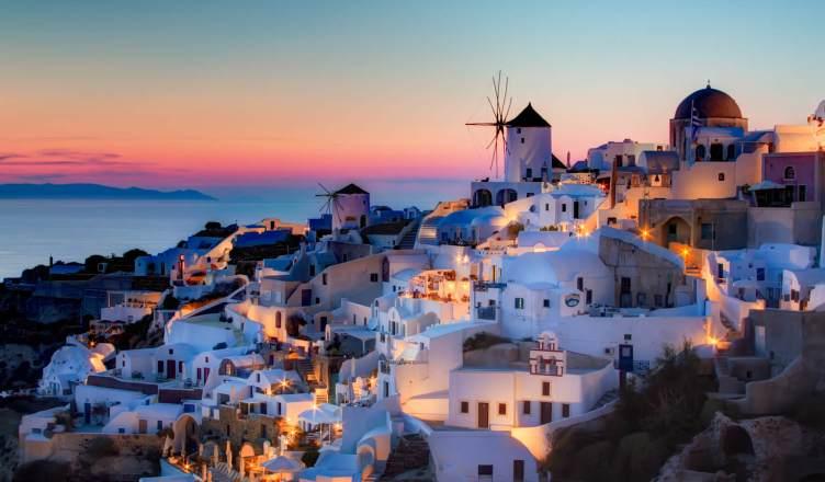 Santorini, Grécia. Crédito divulgação