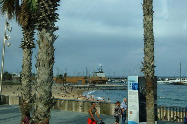 Orla de Barceloneta. Foto Surian Dupont