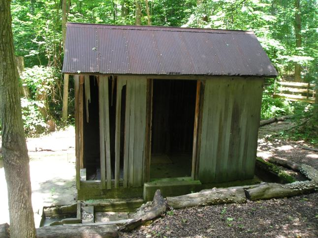 Melchers period pump house