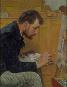 strobentz painting in church