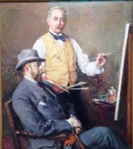 Self-Portrait with Hugo Reisinger