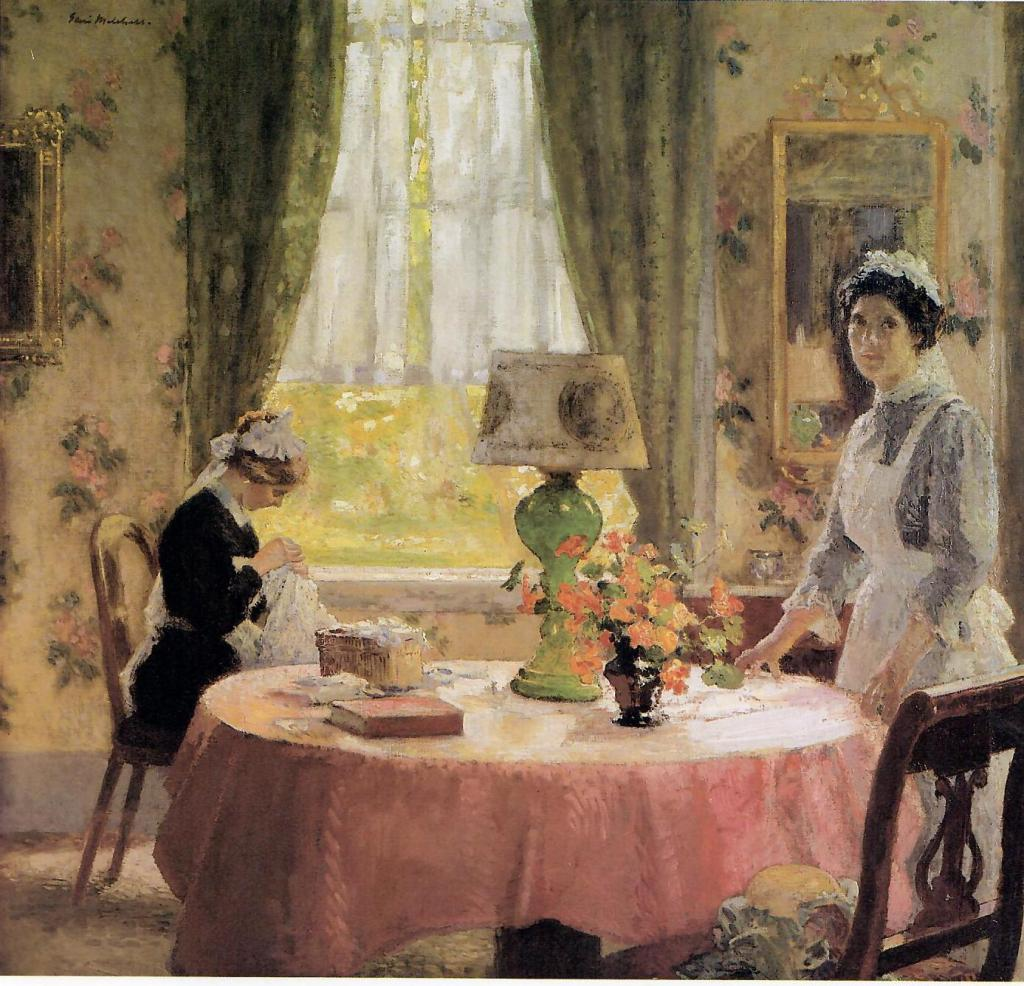 The Green Lamp, private collection