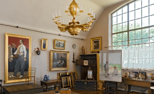 Belmont Studio Interior